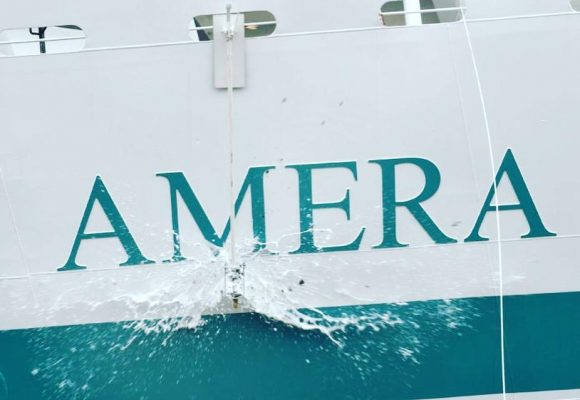 MS AMERA Christening in Bremerhaven