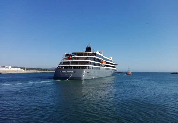 MS World Explorer sets Sail